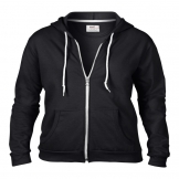 Anvil women's full zip hooded sweat