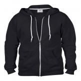 Anvil full zip hooded sweat
