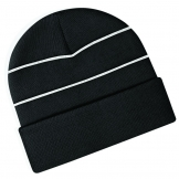 Enhanced-viz knitted hat