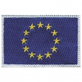 Europe Iron on Badge