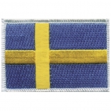 Sweden Iron on Badge