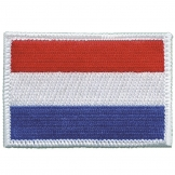 Holland Sew-on Flag Badge