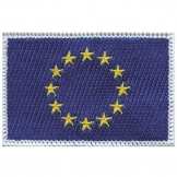 Europe Sew-on Flag Badge