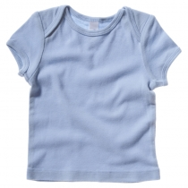 Short-sleeve baby rib t-shirt