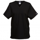 V-neck tunic side seam vents