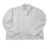 Budget long sleeve chef's jacket