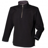 Supersoft touch 1/4 zip sweatshirt