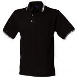 Tipped collar and cuff polo shirt
