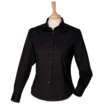 Women's long sleeved fitted shirt