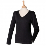 Women's 12 gauge v-neck jumper
