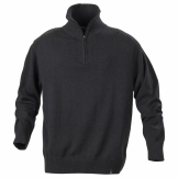 Largo 1/2 zip knitted sweatshirt