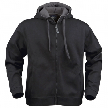 Prescott zipped hooded jacket