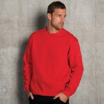 Heavy duty crew neck sweatshirt