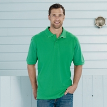Classic cotton pique polo