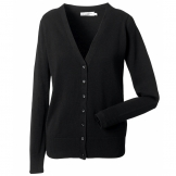 Women's v-neck knitted cardigan