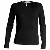 Women's long sleeve v-neck t-shirt