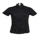 Women's bar shirt mandarin collar short sleeve