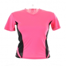 Women's Gamegear® Cooltex® team top v-neck short sleeve