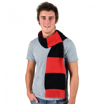 The supporter's scarf