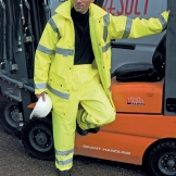Safety hi-viz trousers (EN471 class 1)