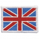 Embroidered flag badge