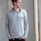 Long sleeve hooded T