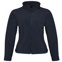 3 layer women's softshell jacket
